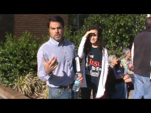 Interview with street preacher at abortion mill.