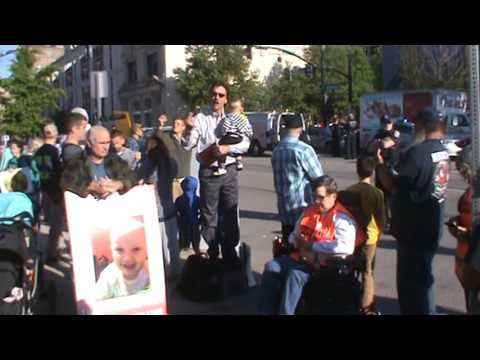 Street preaching in the face of black uniform police state!