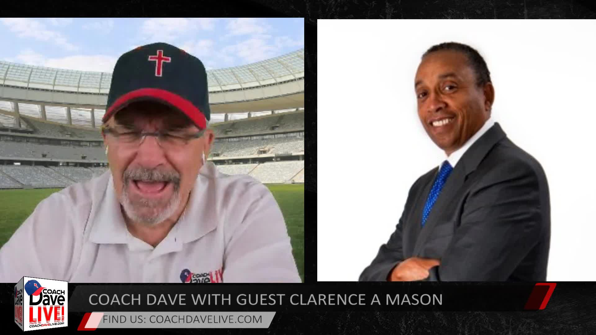 Coach Dave LIVE with Guest Clarence A Mason | 6-2-2020