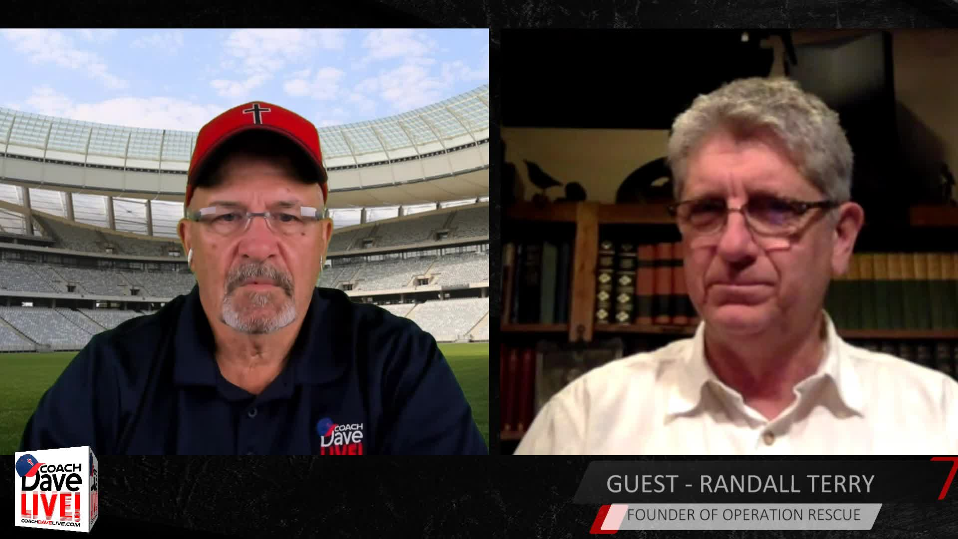 Coach and Randall Terry | Coach Dave LIVE | 7-14-2020