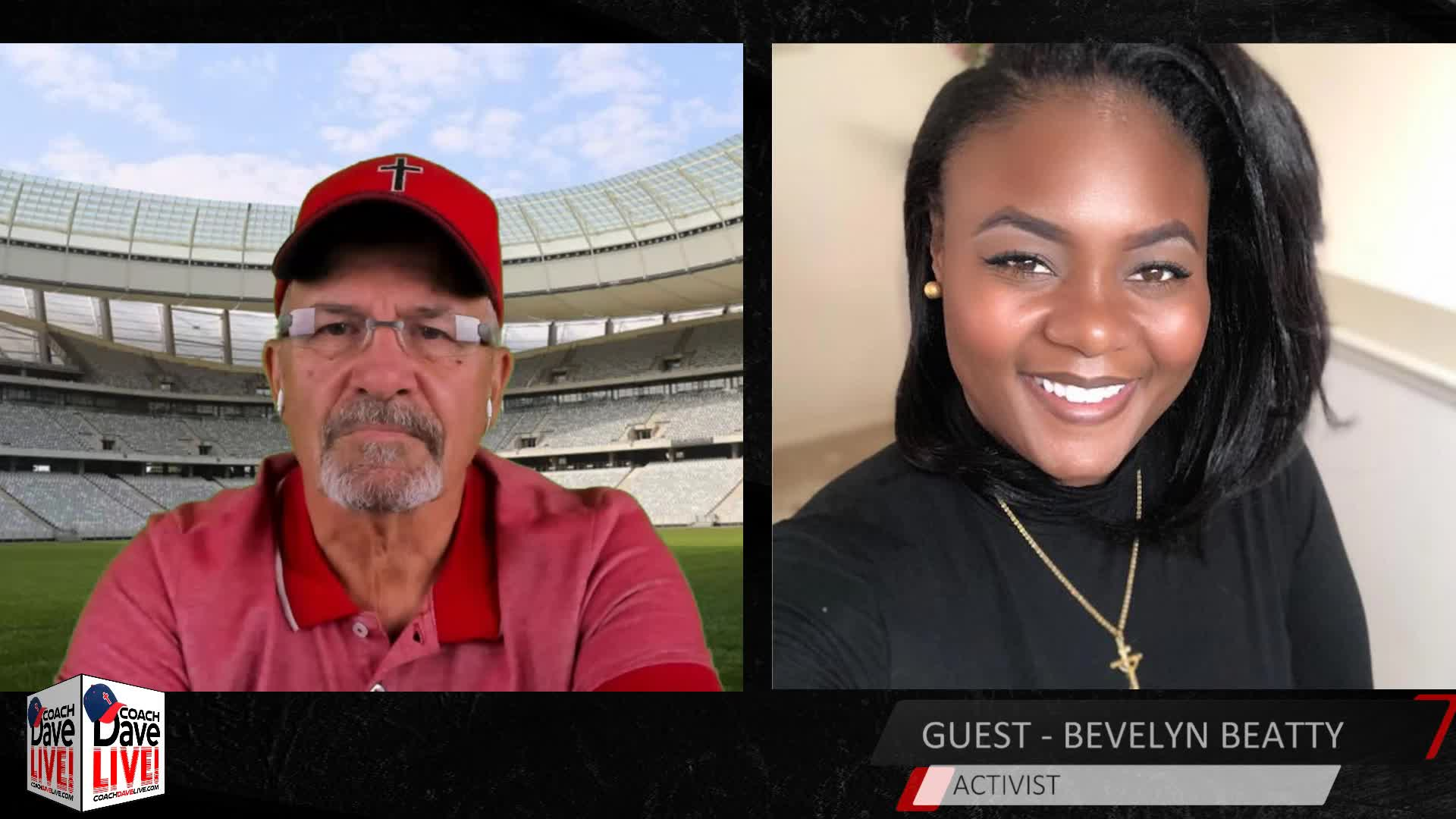 Coach Dave LIVE with Guest Bevelyn Beatty | 7.23.2020