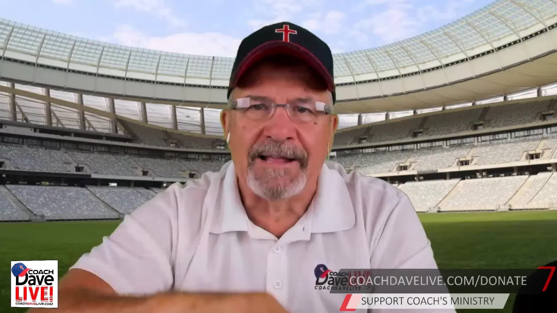 Coach Dave LIVE   08-05-2020   Preparations Not Reparations