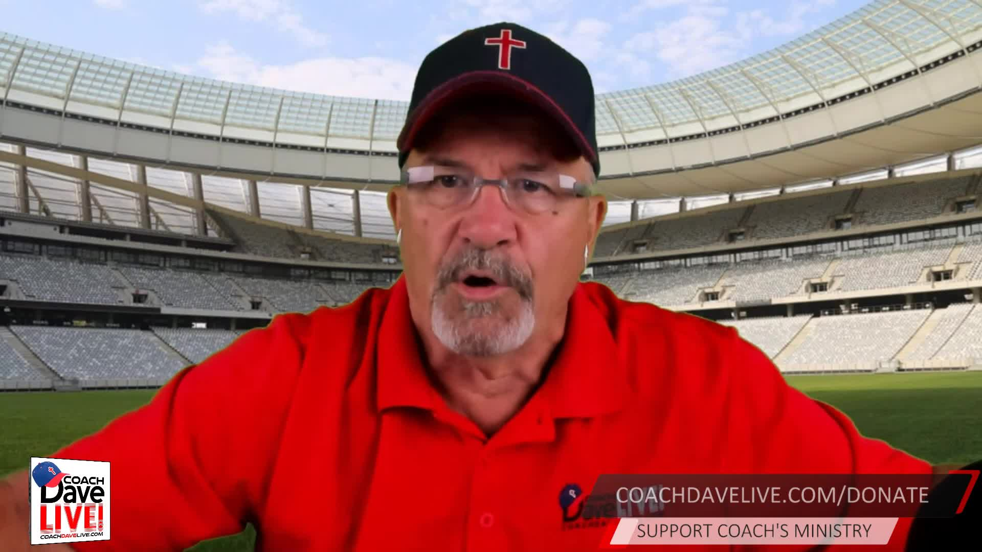 Coach Dave LIVE   08-10-2020   The Standard of the Church