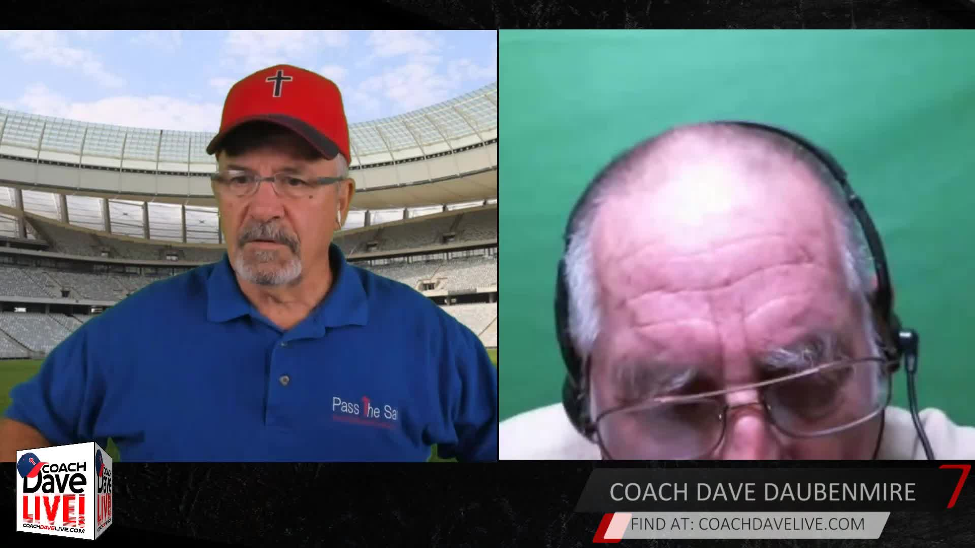Coach Dave LIVE   08-31-2020   APPEALING TO HEAVEN -- CHAPTER 2