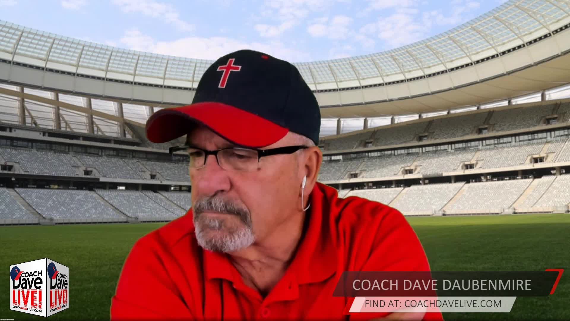 Coach Dave LIVE   09-18-2020   MANLY FIRMNESS