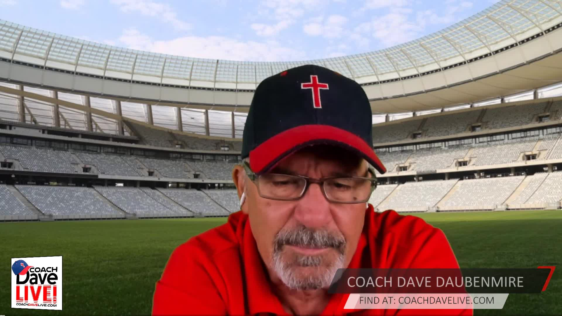Coach Dave LIVE   10-05-2020   ARE YOU A CHEERLEADER?