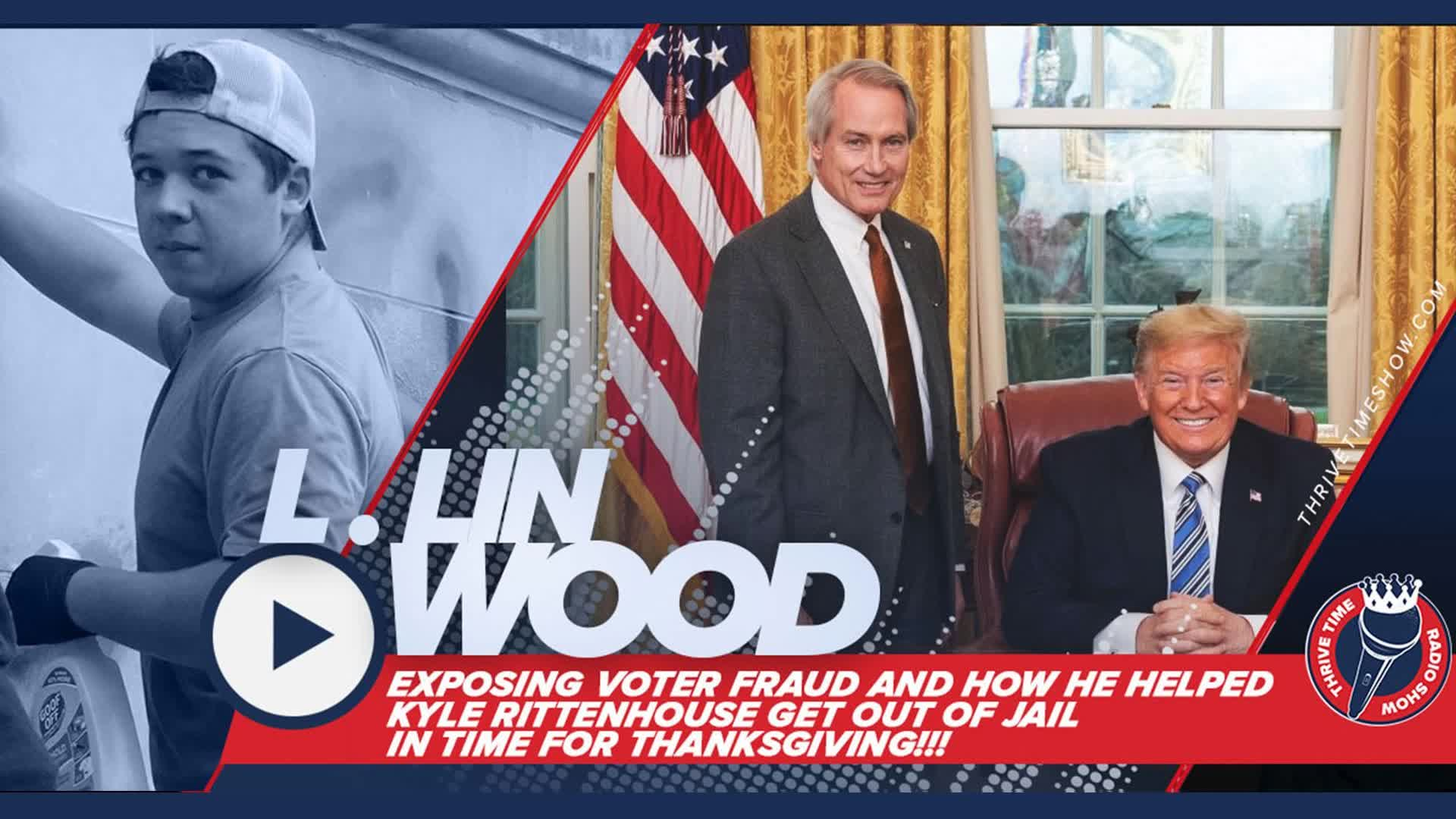 BOMBSHELL VOTER FRAUD REVEALED!!! | Lin Wood Exposes Voter Fraud and Shares How Kyle Rittenhouse...