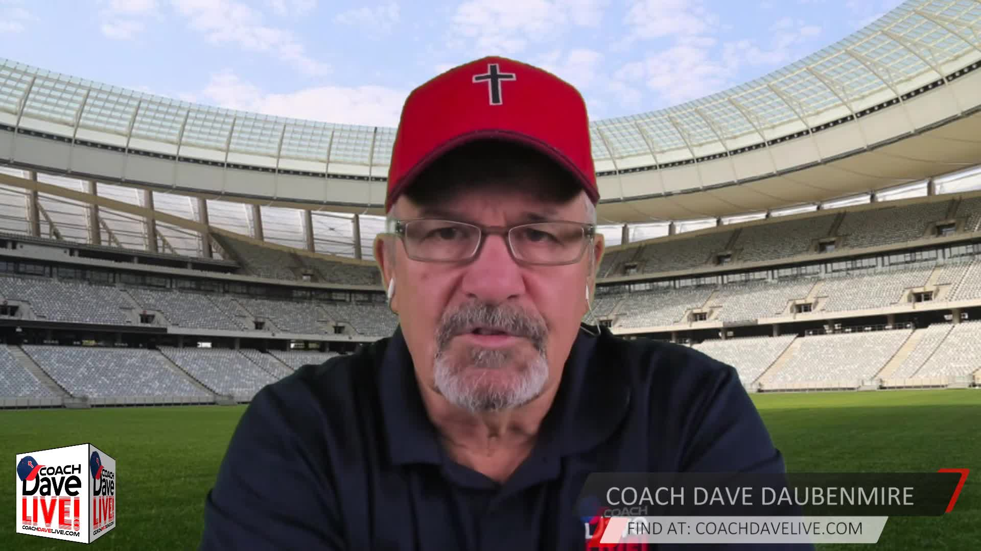 Coach Dave LIVE | 12-11-2020 | BLIND WILL SEE