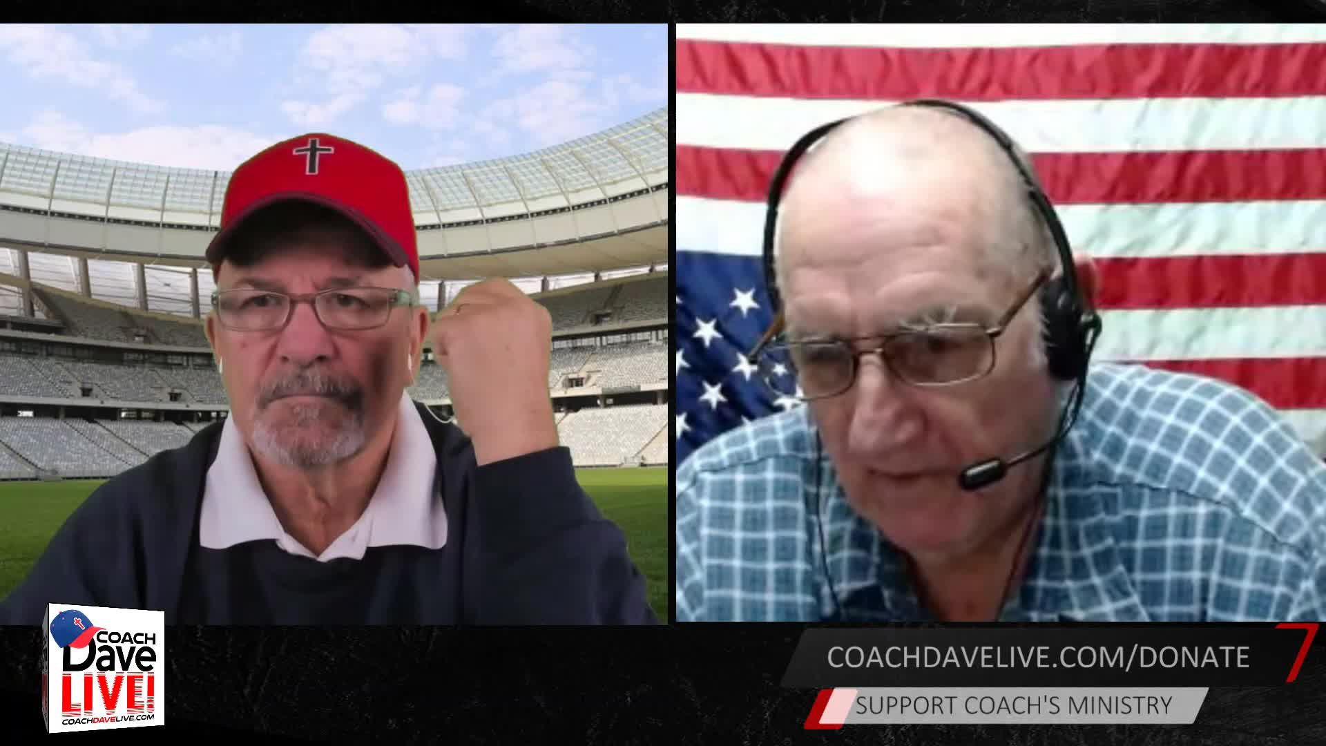 Coach Dave LIVE   01-15-2021   GOVERNMENT IS FORCE -G WASHINGTON