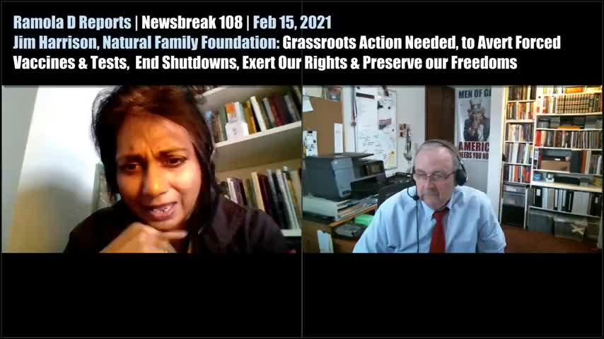 Newsbreak 108 | Jim Harrison Calls for Grassroots Local Action To Preserve American Health Freedoms