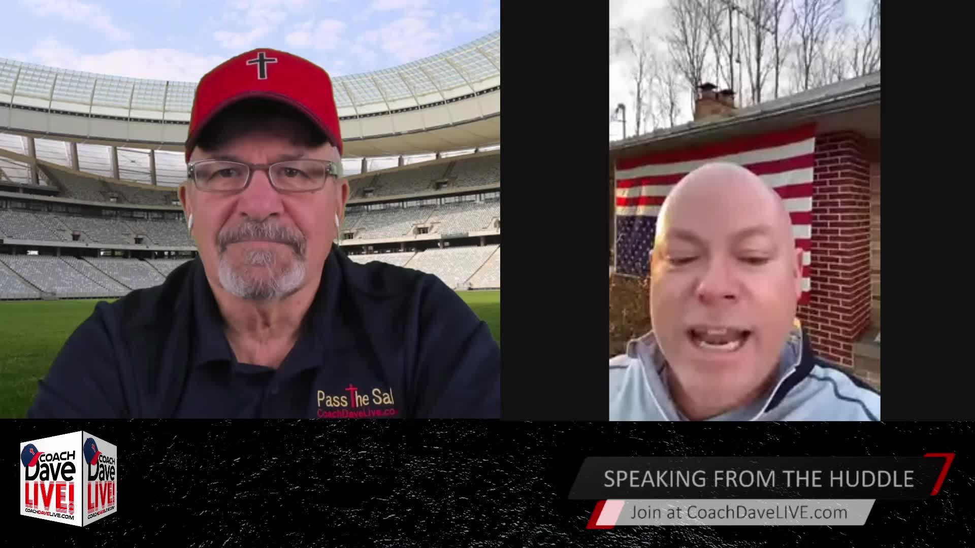 Coach Dave LIVE | 3-12-2021 | SEPARATION OF CHURCH (AND) STATE?