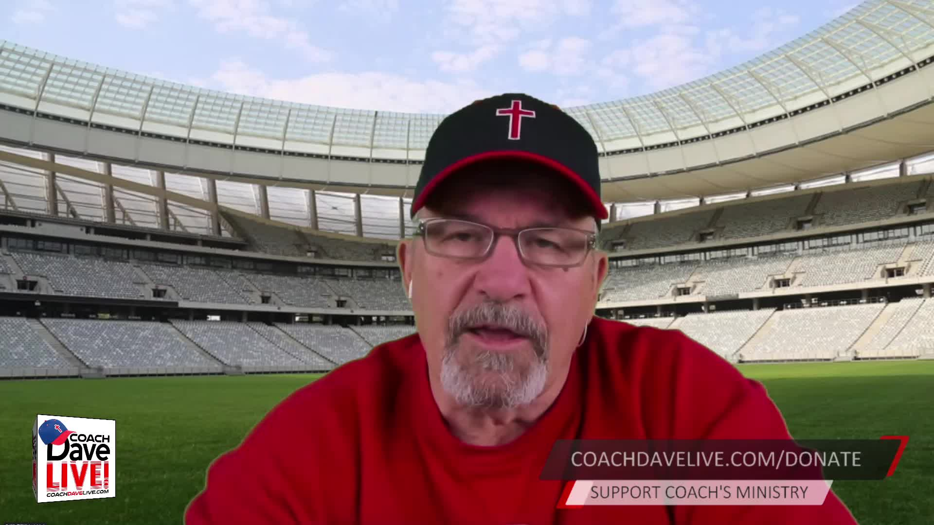Coach Dave LIVE | 3-15-2021 | JESUS TOLD PETER THAT HE HAD TO BE CONVERTED - AUDIO ONLY