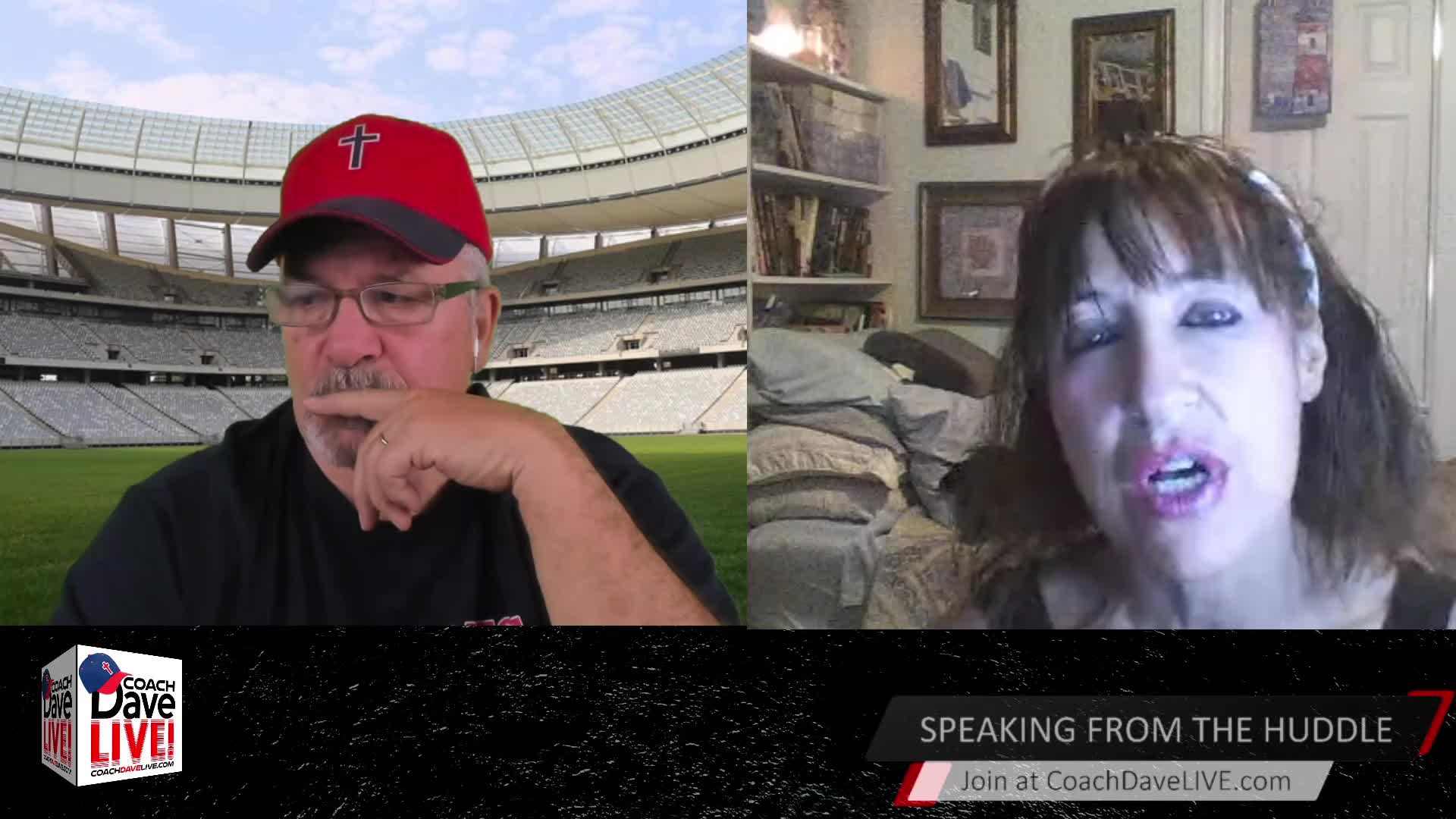 Coach Dave LIVE | 3-25-2021 | DEATH BY FEAR