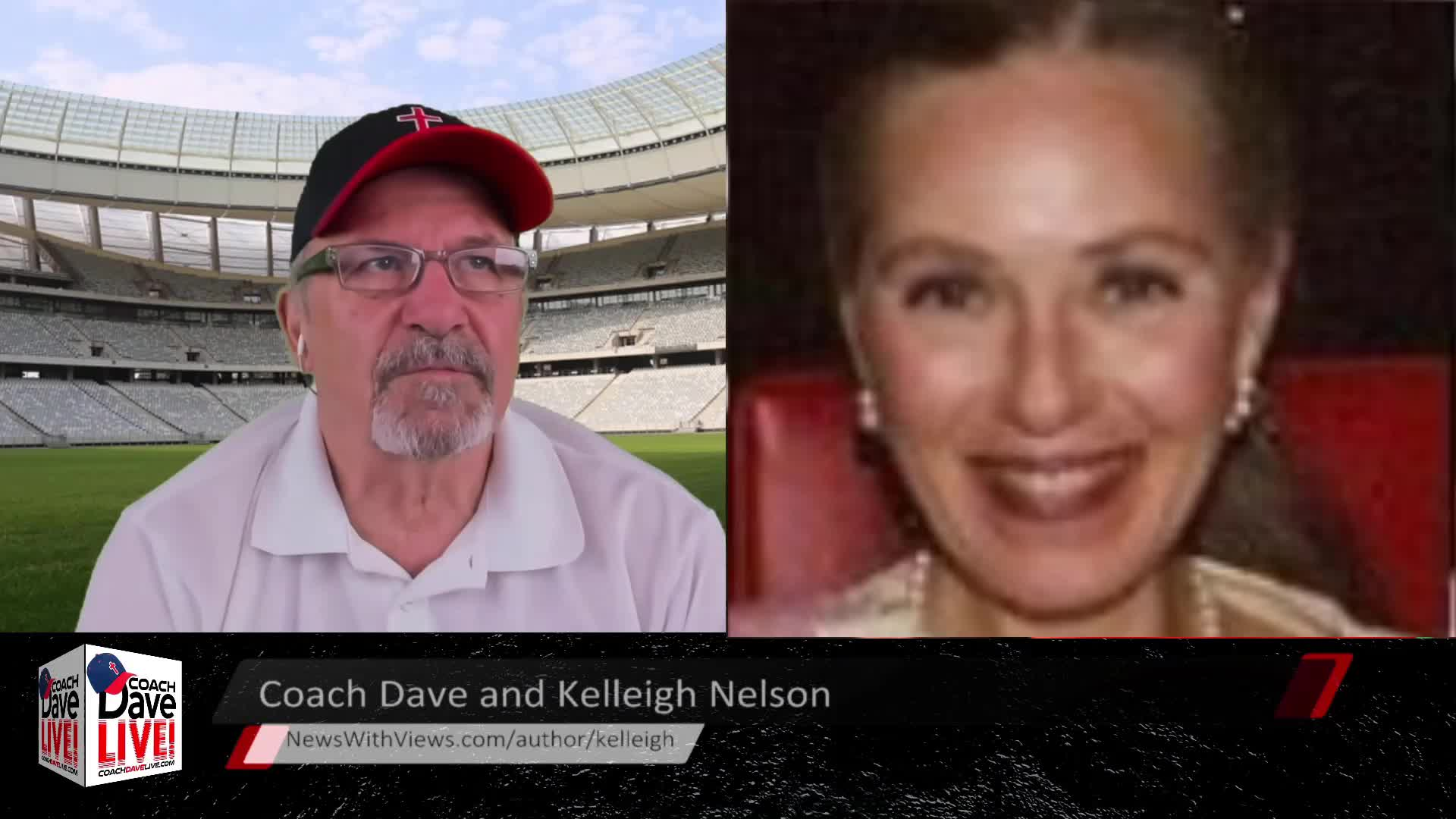 Coach Dave LIVE | 4-1-2021 | SPECIAL GUEST: AUTHOR KELLEIGH NELSON