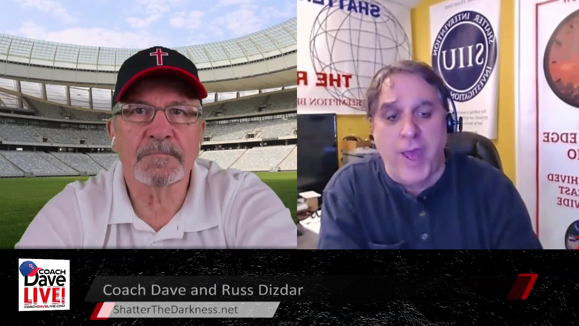 Coach Dave LIVE | 4-8-2021 | FIGHTING DEMONS WITH GUEST RUSS DIZDAR