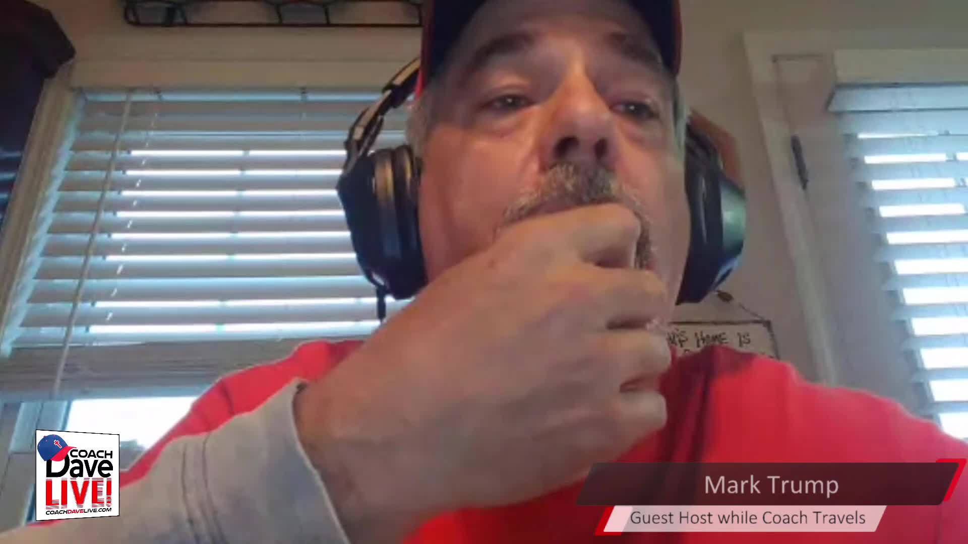 Coach Dave LIVE   4-9-2021   GUEST HOST MARK TRUMP: JUDGMENT OF THE WORLD