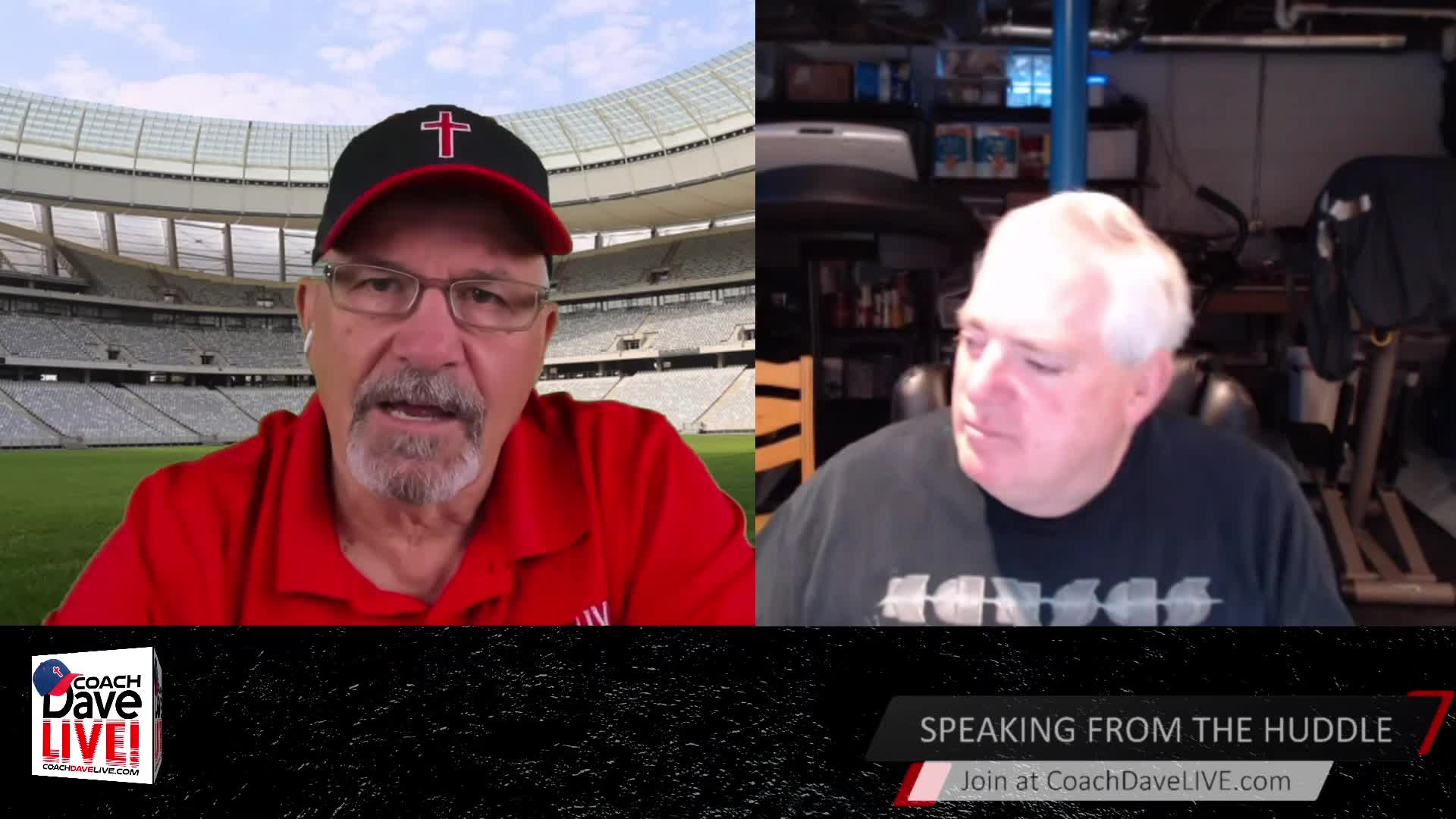 Coach Dave LIVE | 4-21-2021 | SOMETHING'S COMING! - AUDIO ONLY