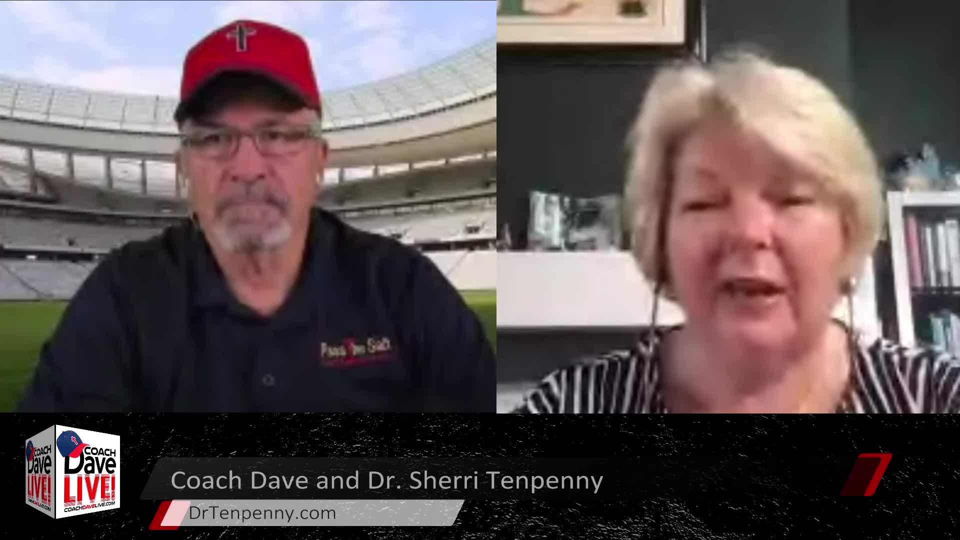 Coach Dave LIVE | 5-21-2021 | SPECIAL GUEST DR. SHERRI TENPENNY - AUDIO ONLY