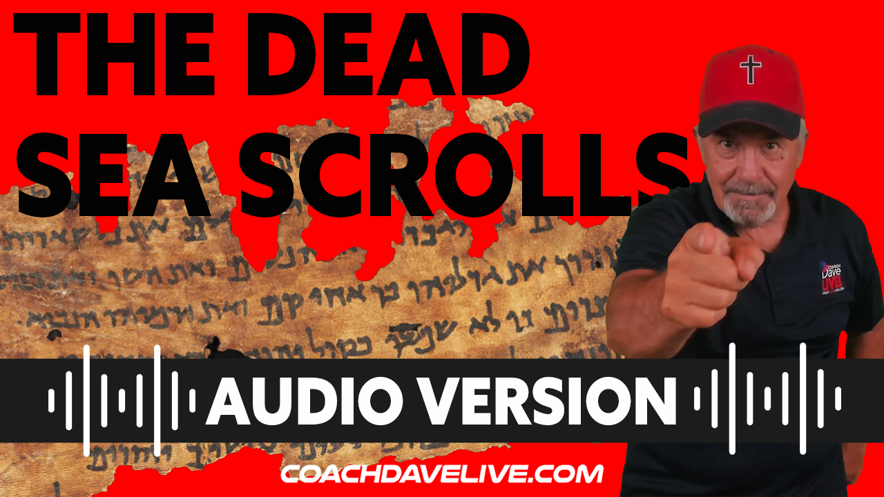 Coach Dave LIVE   7-26-2021   The Dead Sea   Audio Only