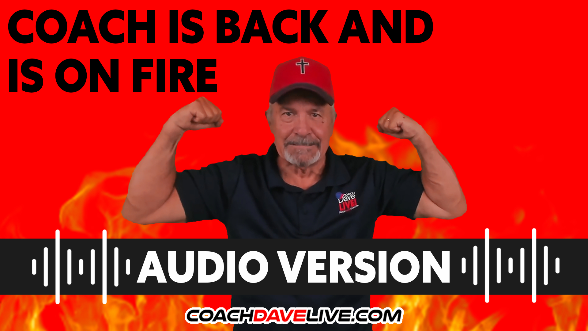 Coach Dave LIVE   9-15-2021   COACH IS BACK AND IS ON FIRE! - AUDIO ONLY