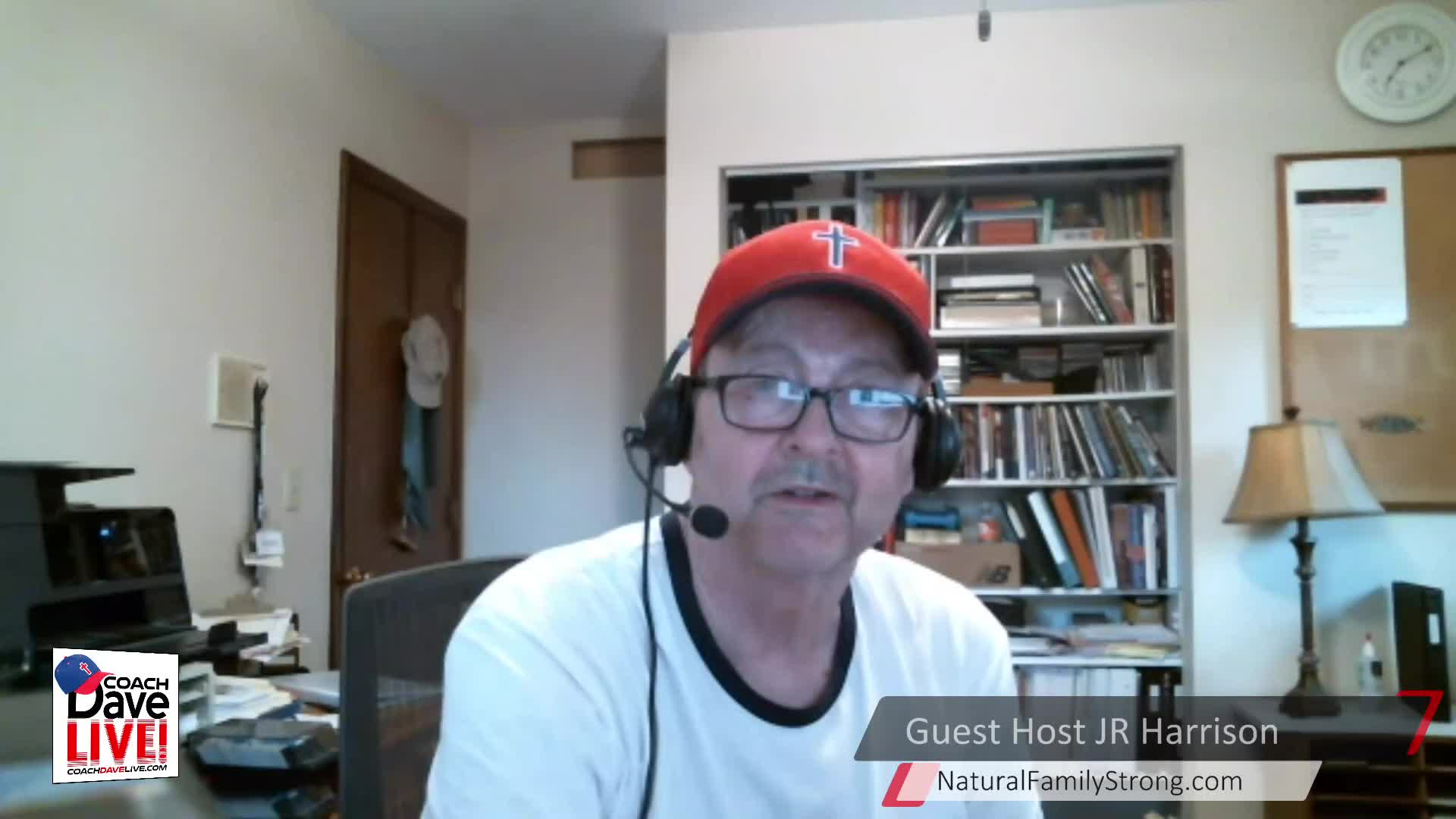 Coach Dave LIVE | 5-21-2021 | FFF: GUEST HOST JR HARRISON ON FAMILY