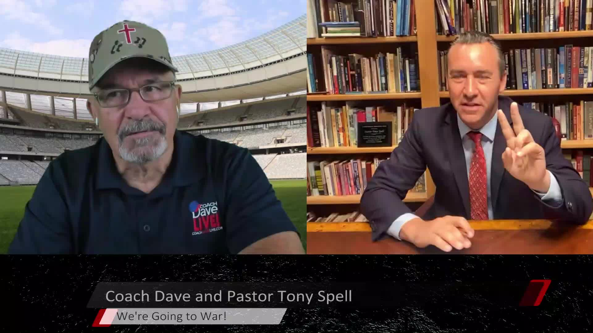 Coach Dave LIVE   6-1-2021   WE'RE GOING TO WAR WITH TONY SPELL!