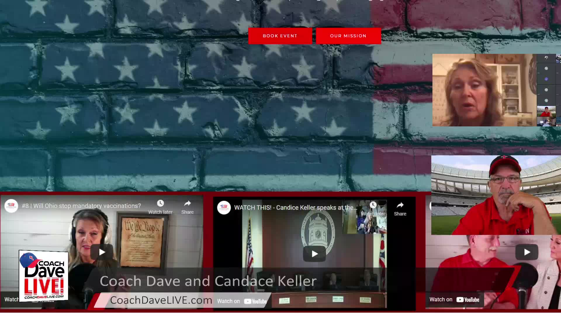 Coach Dave LIVE | 6-3-2021 | POLITICS ARE LOCAL WITH GUEST CANDACE KELLER