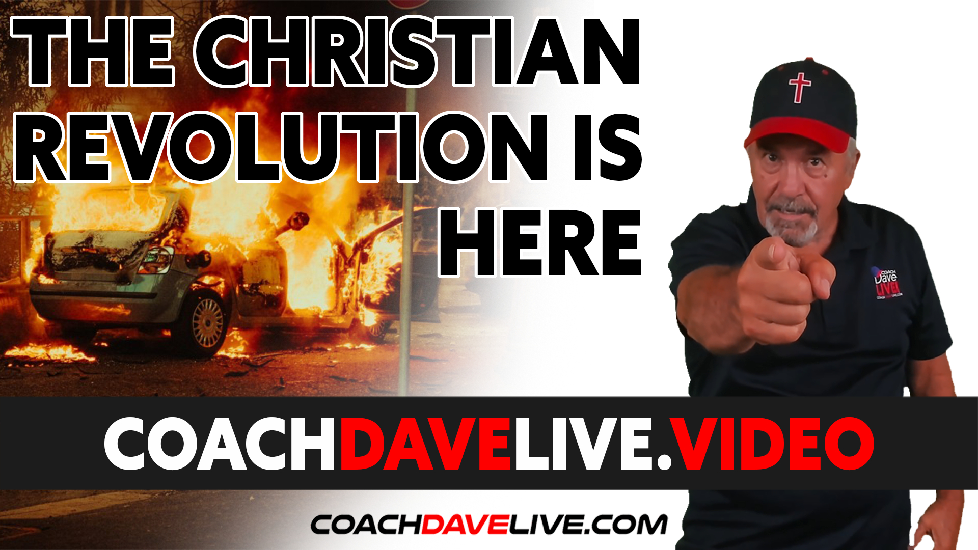 Coach Dave LIVE | 8-31-2021 | THE CHRISTIAN REVOLUTION IS HERE