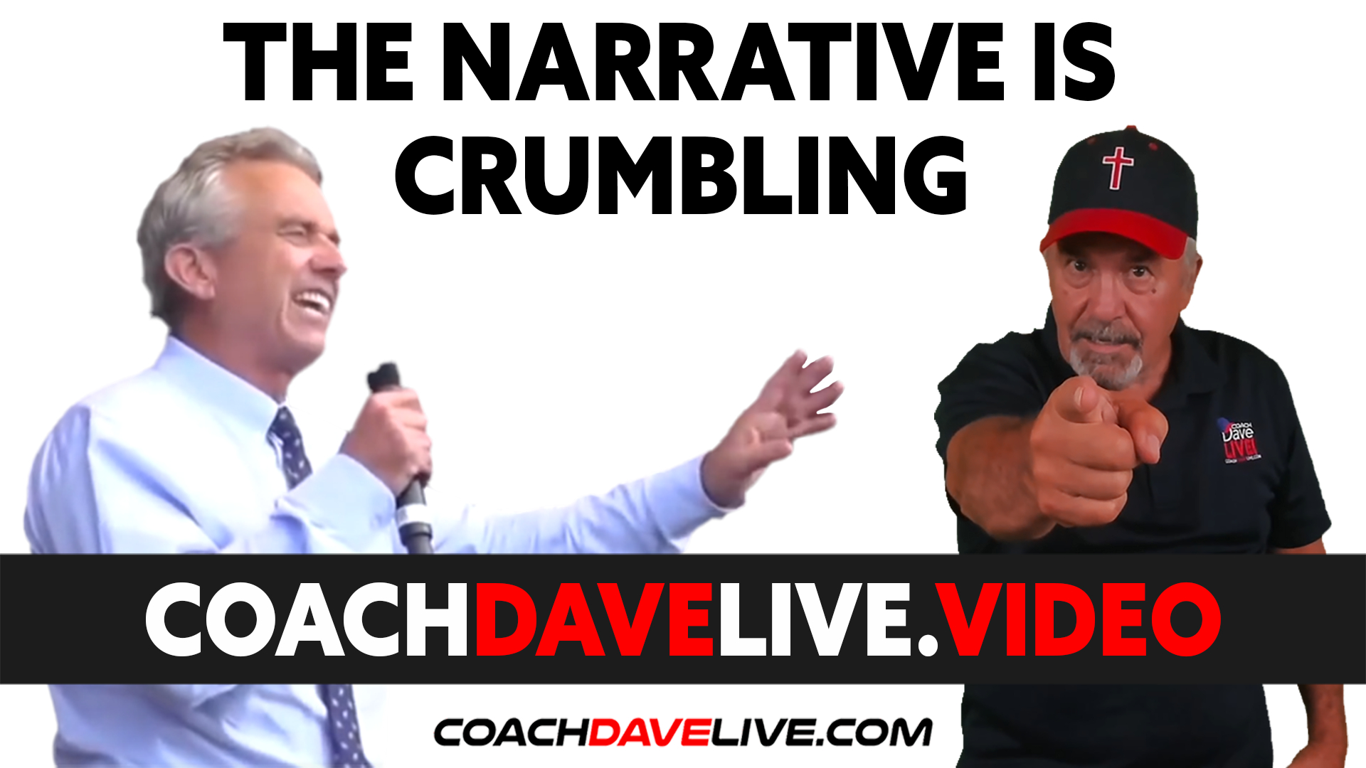 Coach Dave LIVE   9-13-2021   THE NARRATIVE IS CRUMBLING